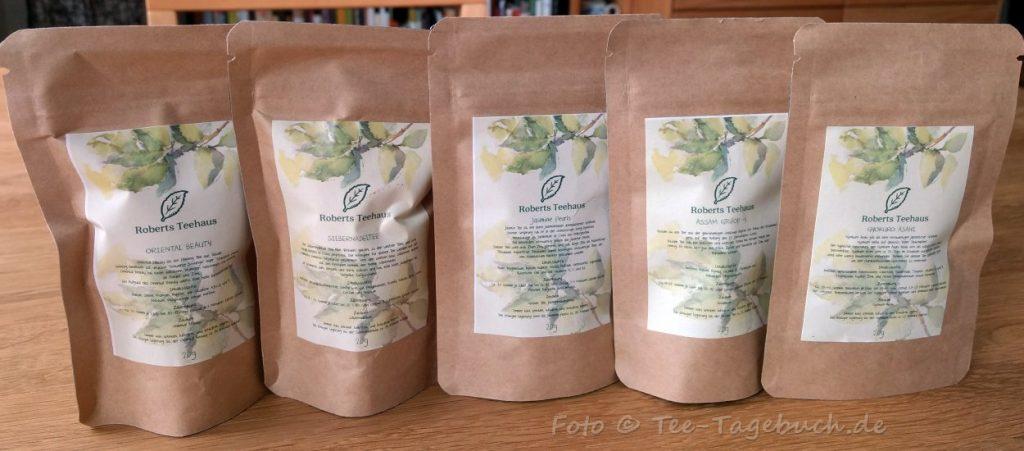 Tees von Roberts Teehaus