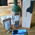 Eiskalter Genuss: Teeflasche für den Tee-Kaltaufguss