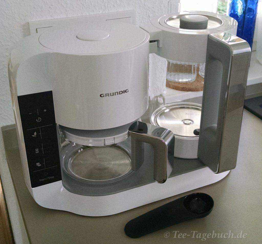 Der Grundig Teebereiter TM 8280 W im Praxis-Test.