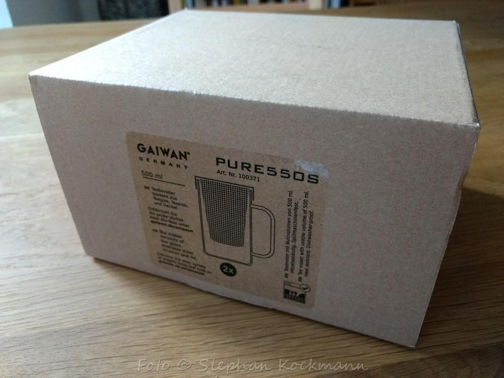 GAIWAN Teeglas-Set PURE550S