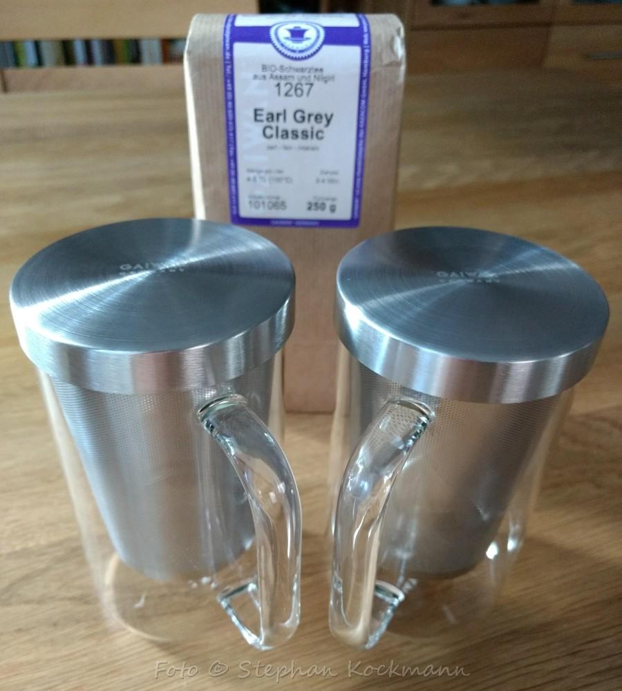 GAIWAN Teeglas-Set PURE550S und Tee