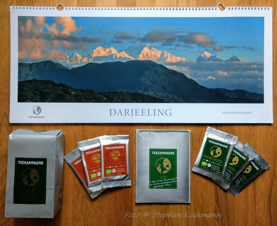 Teekampagne Lieferung September 2018
