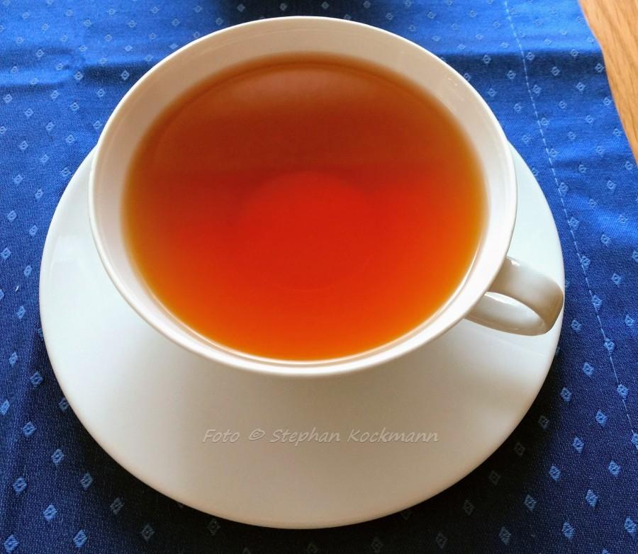 Teekampagne Darjeeling Earl Grey