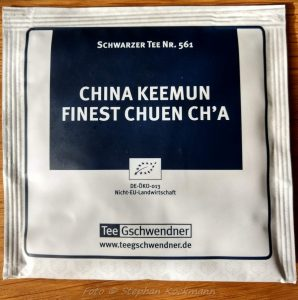 TeeGschwendner Tee: China Keemun Finest