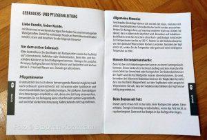 ELO Bombee Flötenkessel Informationsbroschüre
