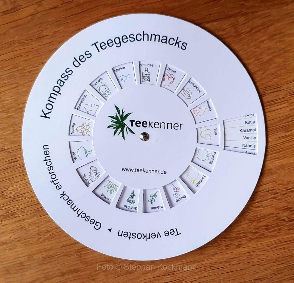 Teekenner Tee-Geschmacks-Kompass