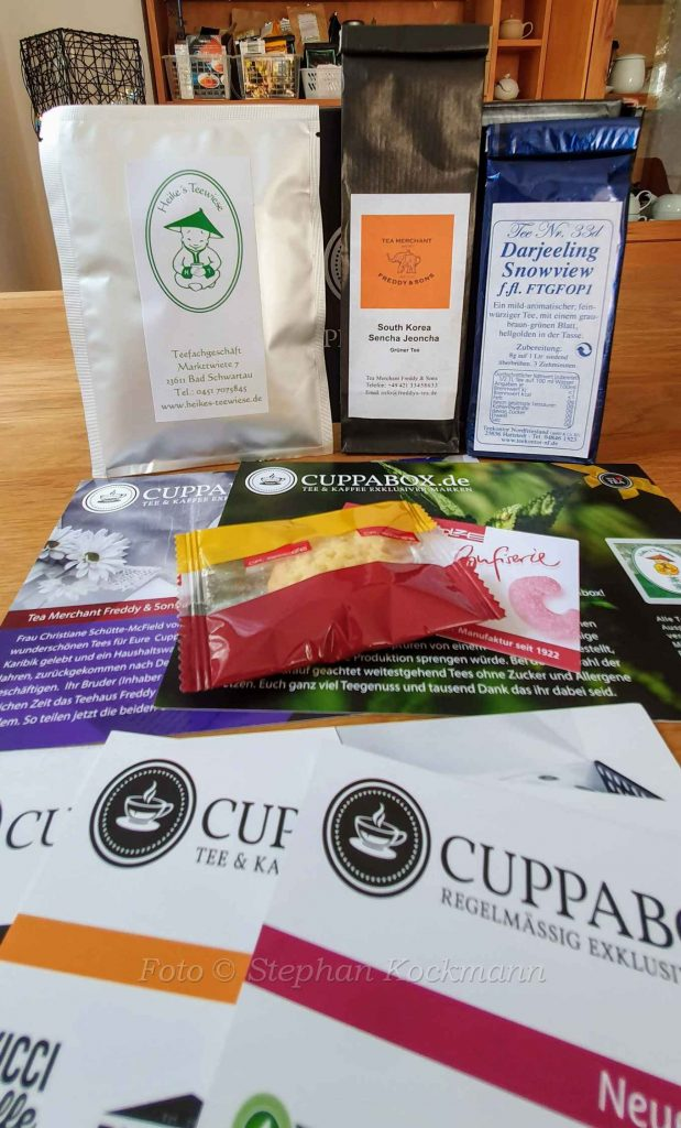 Cuppabox Tee & Kunst