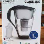 Wasserfilter von PearlCo in der Glas-Variante