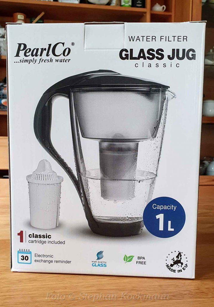 PearlCo Wasserfilter in der Glas-Ausführung