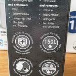 Filterkartuschen-Verpackung von der Seite