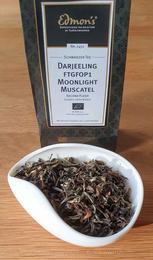 TeeGschwendner Tee Nr. 2452, Darjeeling FTGFOP1 Moonlight Second Flush Muscatel
