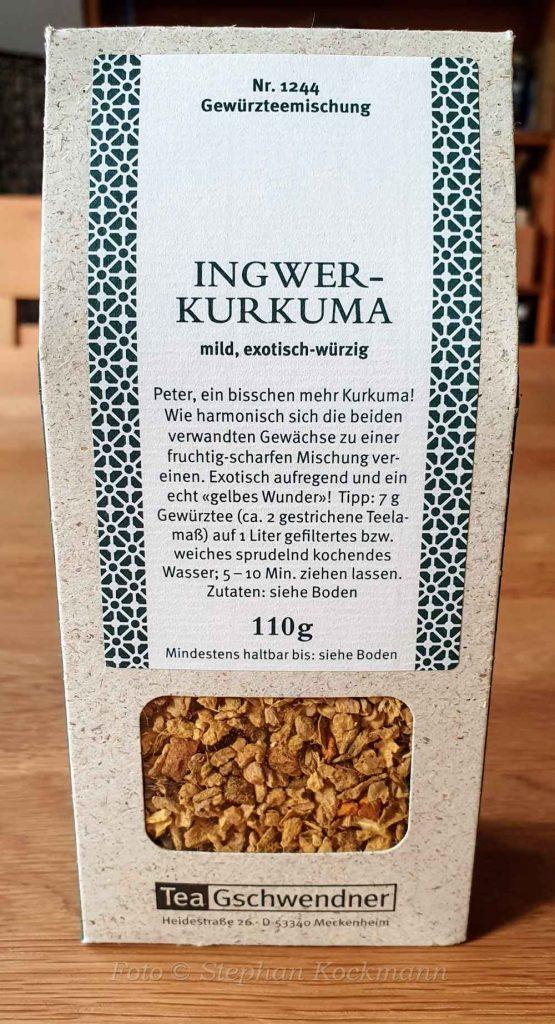 TeeGschwendner Nr. 1244, Ingwer-Kurkuma