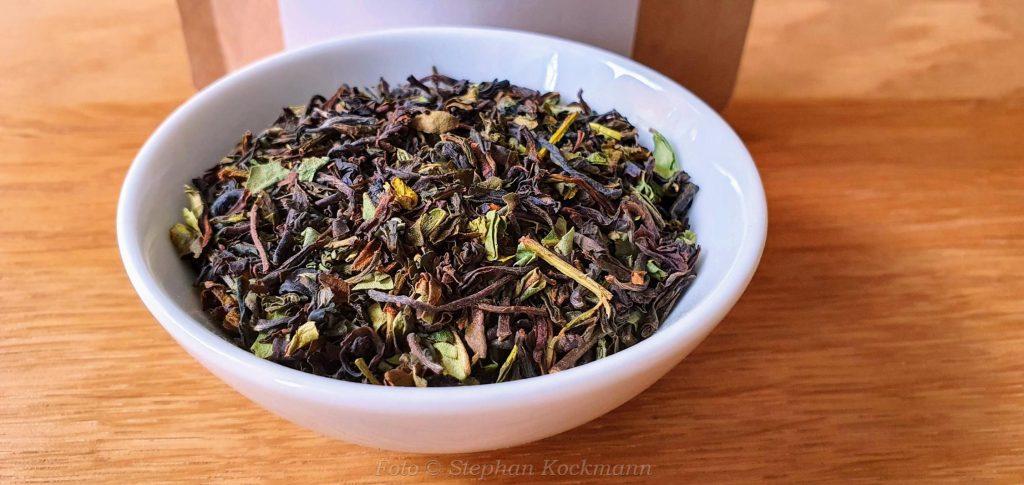 Südindien Frost Tea Parkside Ernte 2021