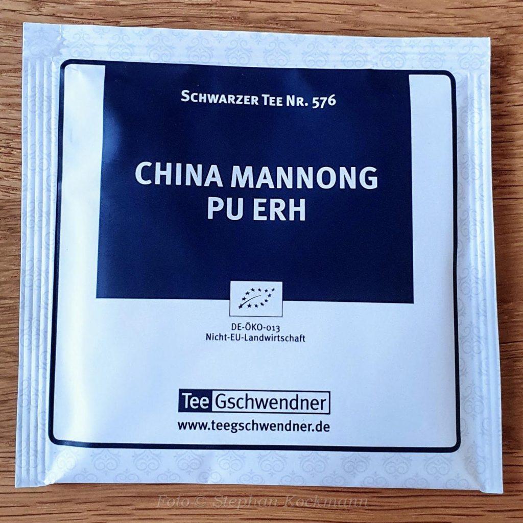 China Mannong Pu Erh
