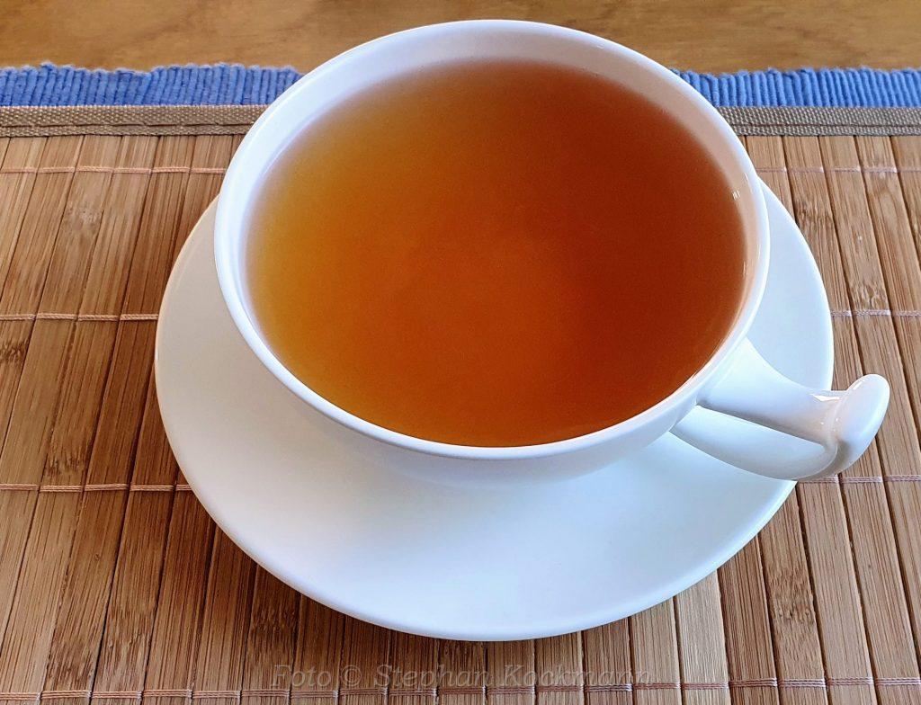 Tee-Sortiment der Berliner Kaffeerösterei